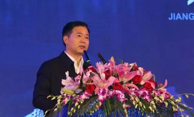 上饶市委书记马承祖出席会议并致辞
